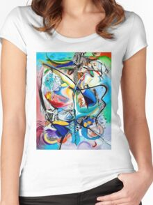 Intimate Glimpses, Journey of Life Women's Fitted Scoop T-Shirt