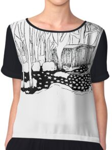 The Shed In The Woods Chiffon Top