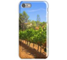 Among Pines and Vineyard iPhone Case/Skin
