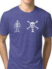 Jeremiah Cocklyn Pirate Flag 1 Tri-blend T-Shirt