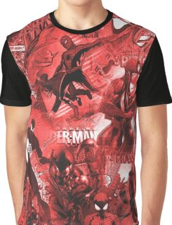Spider Comic MashUp Graphic T-Shirt