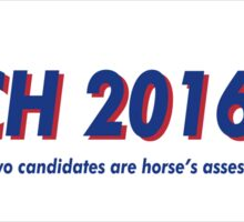Butch the Donkey 2016 Sticker