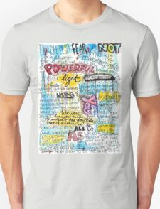 """Marianne Williamson Quote - """"Our deepest fear is not that we are inadequate"""" T-Shirt"""