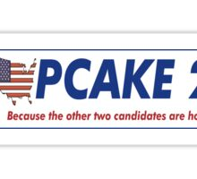 Cupcake the Horse for President 2016 Sticker