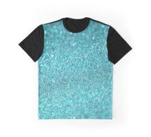 Shiny Texture Sparkley Graphic T-Shirt