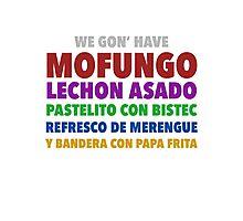 Mofongo Photographic Print