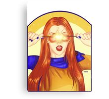 Jean Grey Mocking Cyclops Canvas Print