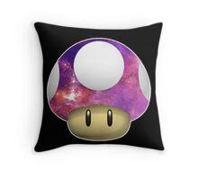 Galactic Shroom Throw Pillow