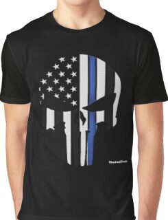 Police Punisher Graphic T-Shirt