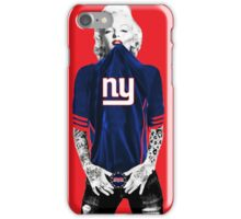 Marilyn Monroe For NY Giants iPhone Case/Skin