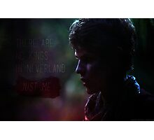 There are no Kings - Peter Pan - Once Upon a Time Photographic Print