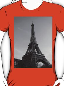 Eiffel Tower Black & White (Paris) T-Shirt