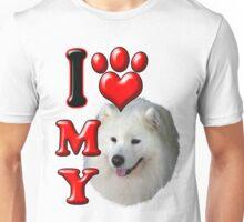 I Love My Samoyed Unisex T-Shirt