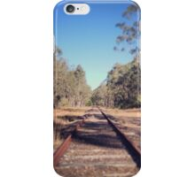 Abandoned tracks, Kurri Kurri iPhone Case/Skin