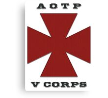 Army of the Potomac Fifth Corps Emblem Canvas Print