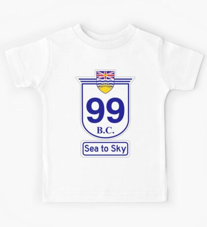 British Columbia 99 - Sea to Sky Kids Tee