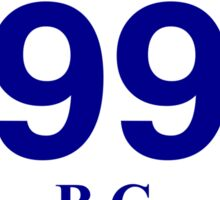 British Columbia 99 - Sea to Sky Sticker