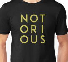 Notorious Gold Unisex T-Shirt
