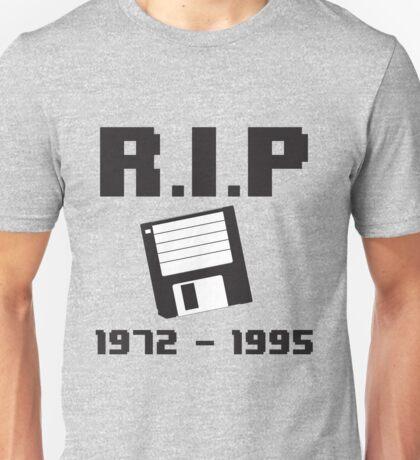 R.I.P. Floppy Disk Unisex T-Shirt