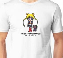Lady Sailor of the Stars - with Text Unisex T-Shirt