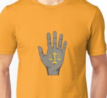 Hand of Justice Unisex T-Shirt