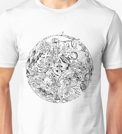 Under The Sea ink Unisex T-Shirt