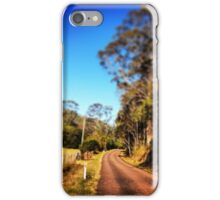 The long winding road iPhone Case/Skin