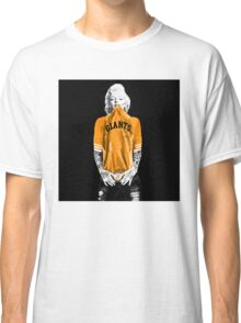 Marilyn Monroe For San Francisco Giants Classic T-Shirt