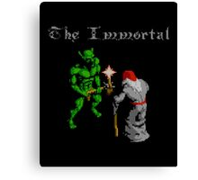 THE IMMORTAL - NES CLASSIC GAME Canvas Print