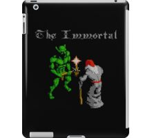 THE IMMORTAL - NES CLASSIC GAME iPad Case/Skin