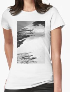 at the edge Womens Fitted T-Shirt