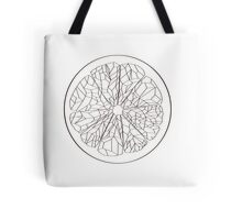 Ruby Red Grapefruit - Outline Tote Bag