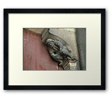 The weight of the world Cathedral Laon France 19840507 0035 Framed Print