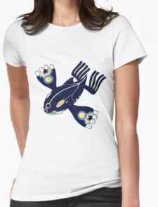 Pokemon - Primal Kyogre Womens Fitted T-Shirt