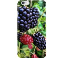I LOVE BERRIES - DELICIOUS WILD BERRIES - PILLOW-TOTE BAG- PICTURE CARD ECT. iPhone Case/Skin