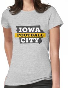 Iowa City Football Womens Fitted T-Shirt
