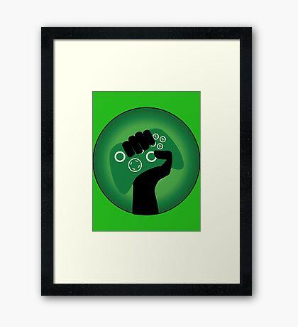 Xbox Gamer Framed Print