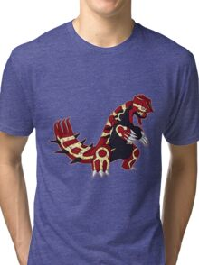 Pokemon - Primal Groudon Tri-blend T-Shirt