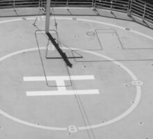 Ship Helicopter Pad Sticker