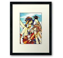 Tsubasa Reservoir Chronicle Framed Print