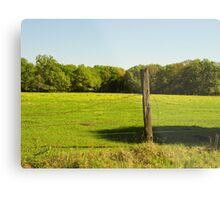 Prairie Pasture Metal Print