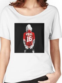 Marilyn Monroe For San Francisco 49ers Women's Relaxed Fit T-Shirt