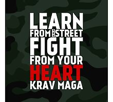 Learn From The Street Krav Maga - Camouflage by crouchingpixel