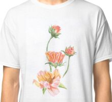 Watercolor Wildflower- Prim Classic T-Shirt