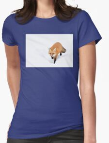 Red Fox - Algonquin Park Womens Fitted T-Shirt