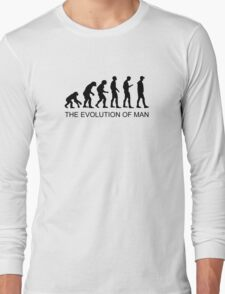 The Evolution of Man - VR Edition Long Sleeve T-Shirt