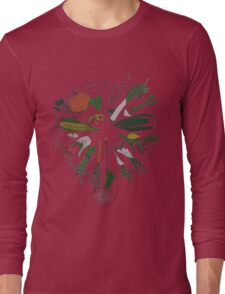 Vegetables 2 Long Sleeve T-Shirt