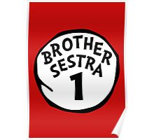 Brother Sestra 1 - Orphan Black Poster