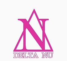 Delta Nu Women's Fitted V-Neck T-Shirt