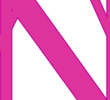 Delta Nu Sticker